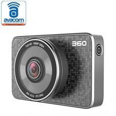 360 FHD 1080p Smart Car Dash Camera with G-Sensor, WiFi V...