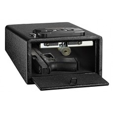 AdirOffice Pistol Safe - Quick Access Gun Safe (Black, Sm...