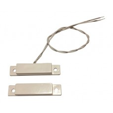 1 pcs Wired White Door Contacts Surface Mount NC Security...