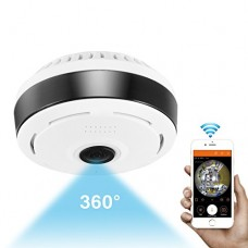 360 Degree Panoramic Camera Wifi Indoor IP Camera Wireles...