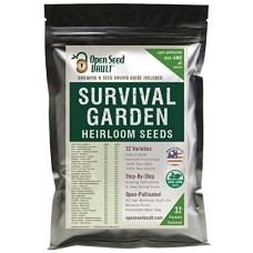 15,000 Non GMO Heirloom Vegetable Seeds Survival Garden 3...