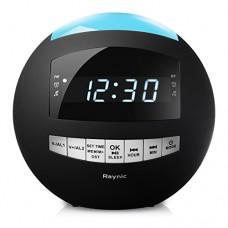 8-in-1 Bluetooth Alarm Clock Radio (Digital) Dual USB Cha...