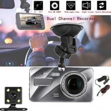 1080P HD Car DVR Dual Lens Camera Video Recorder Rearview...