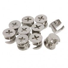 "14.6mm 0.575"" Dia Furniture Connecting Cam Fittings New"