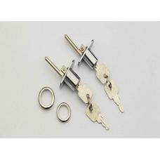2 Pcs - Zinc Alloy Drawer Lock Desk wardrobe Furniture Ca...