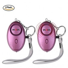 2Pack 130dB Safety Portable Alarm, Emergency Security Per...