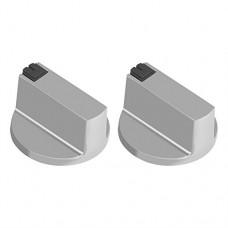 2Pcs 6mm Gas Stove Knobs Universal Zinc Alloy Kitchen Sto...