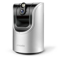 Zmodo Pan and Tilt Wireless Two-Way Audio Camera & 6-Mont...
