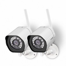 Zmodo Wireless Security Camera System ( 2 pack ) Smart HD...