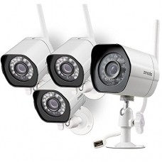 Zmodo Wireless Security Camera System (4 pack) Smart HD O...