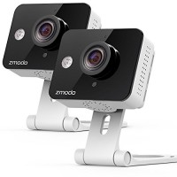 Zmodo Wireless Two-Way Audio Security Camera & 6-Month Cl...
